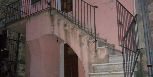 Typical Ligurian house in the hinterland of Imperia