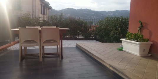 Newly built spacious apartment with open view in Imperia
