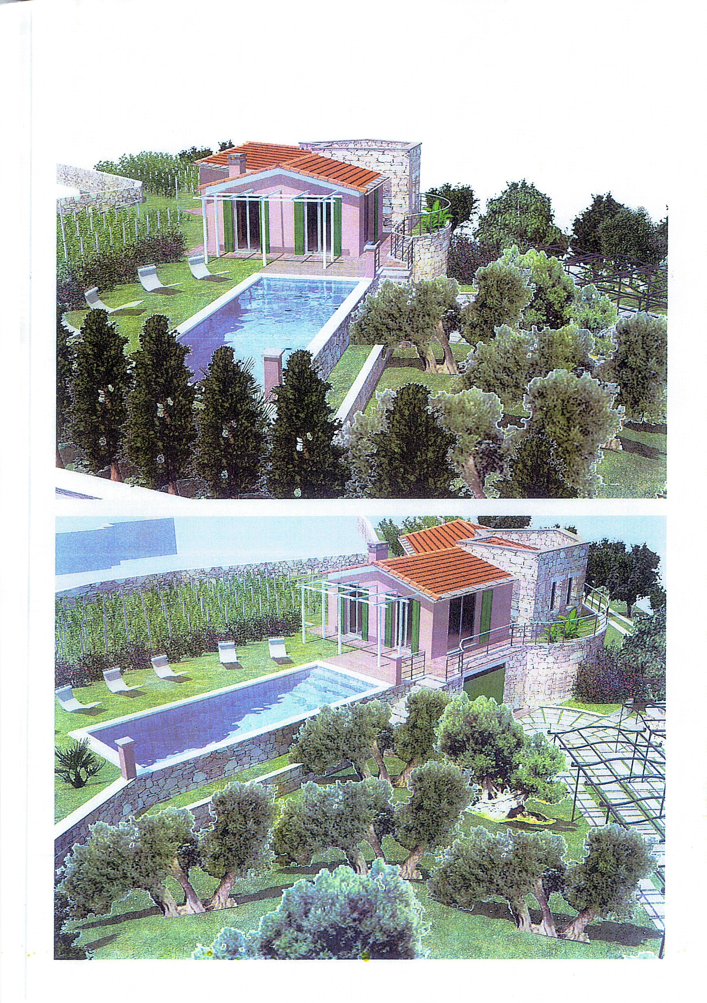 Terreno pianeggiante con cemento armato per villa unifamiliare