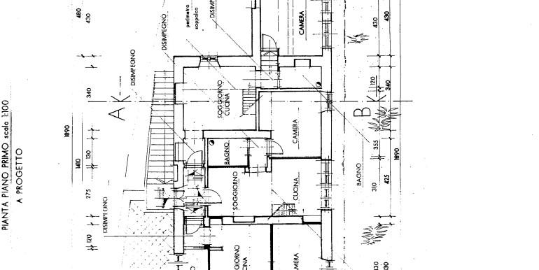 planimetria foto piano camere