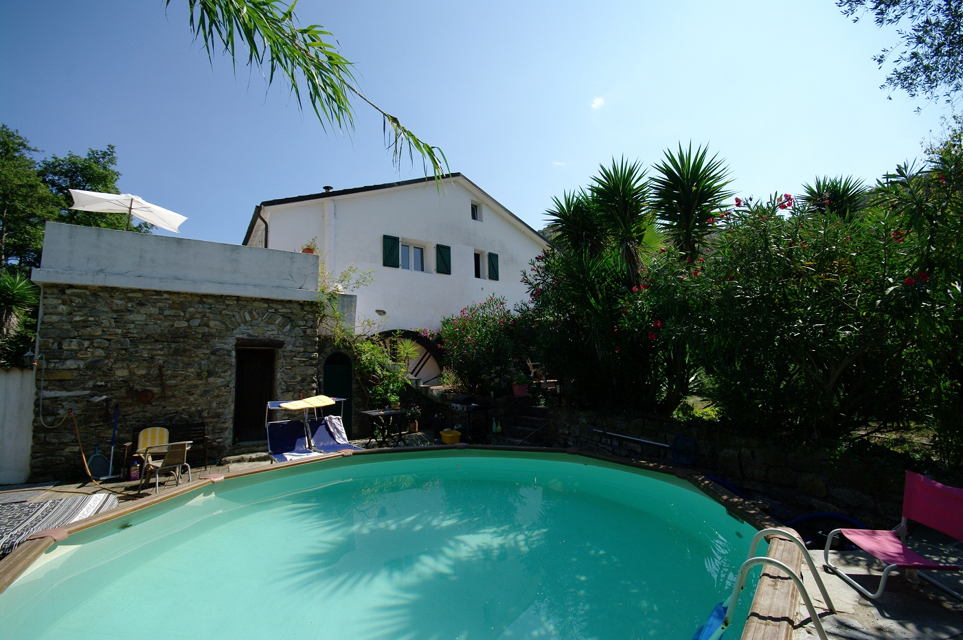San Lorenzo al Mare renovated Villa for two families with pool