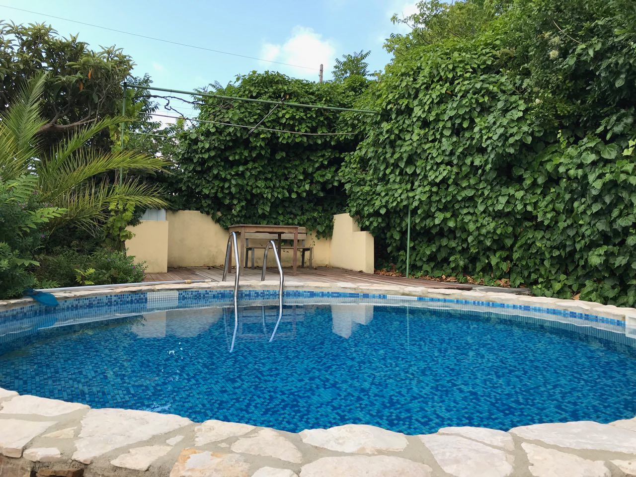 Imperia villa with pool in a residential area