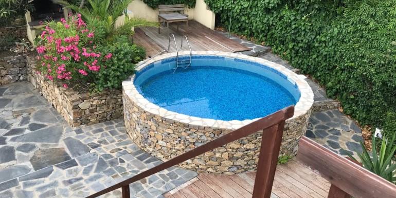 solarium vista piscina